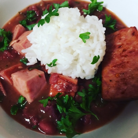 Red Beans and Rice in Instant Pot