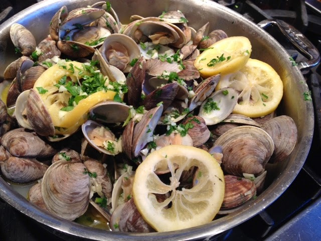 Lemon Butter Clam