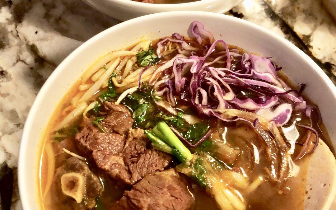 Bun Bo Hue (Spicy Beef Noodle Soup)