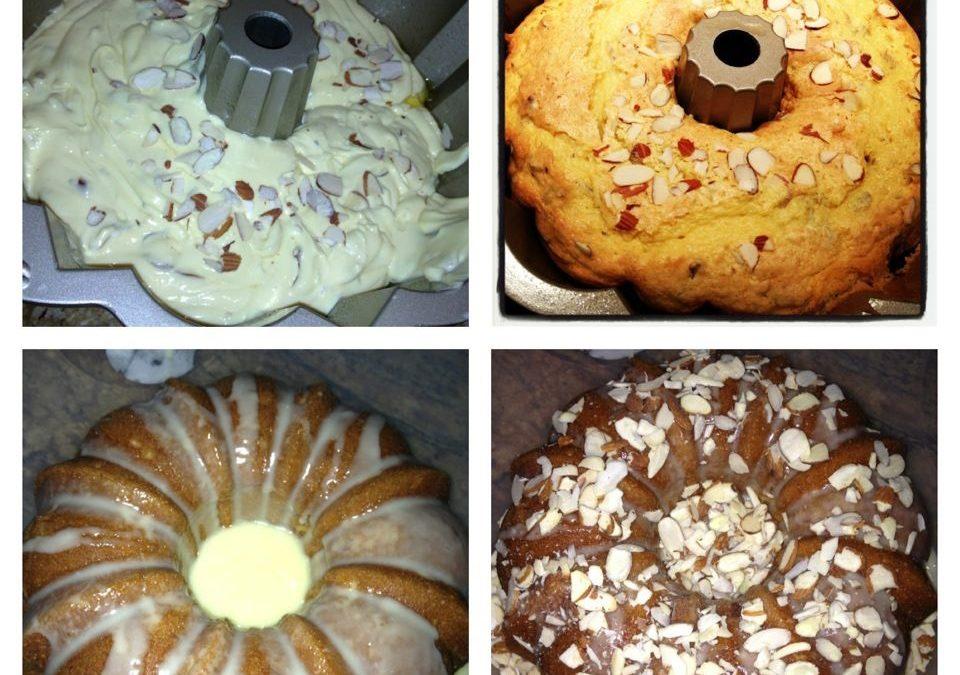 """Doctored Up"" Cake Mix Almond Bundt Cake"