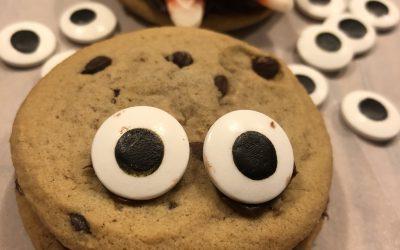 Monster Chocolate Cookies