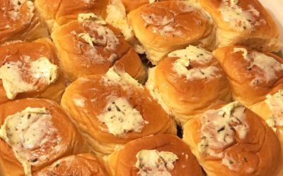 Baked Meatball Sliders