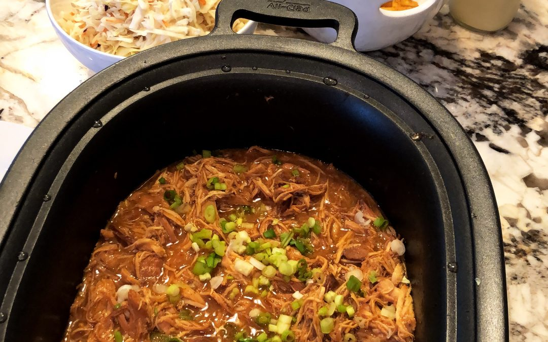 BBQ Chicken In A Crockpot