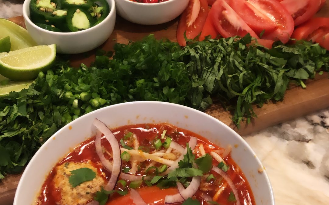 Pork and Shrimp Bun Rieu