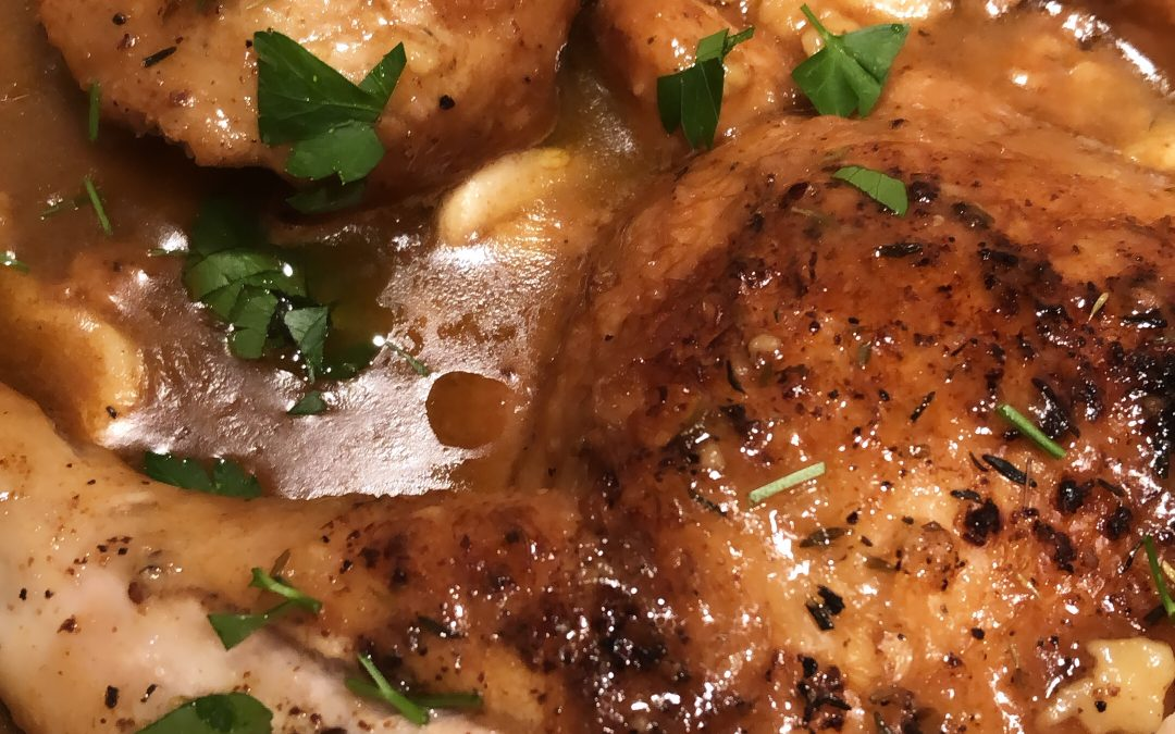 Garlicky Chicken