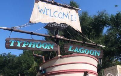 Typhoon Lagoon and Epcot