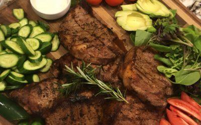 Perfect Pan Seared Steak