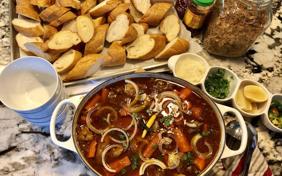 Bo Kho made with Hoisin Sauce