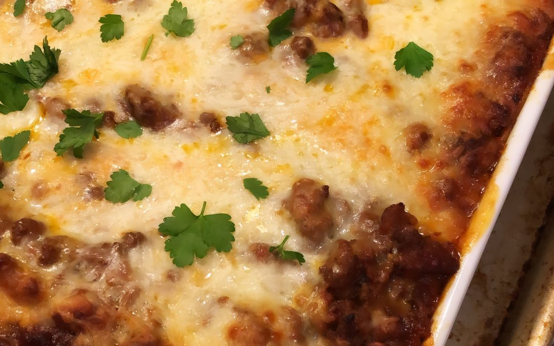 Lasagna (No Boiled Pasta)
