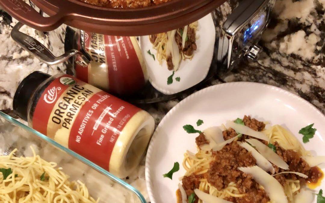Spaghetti Meatsauce In Crockpot