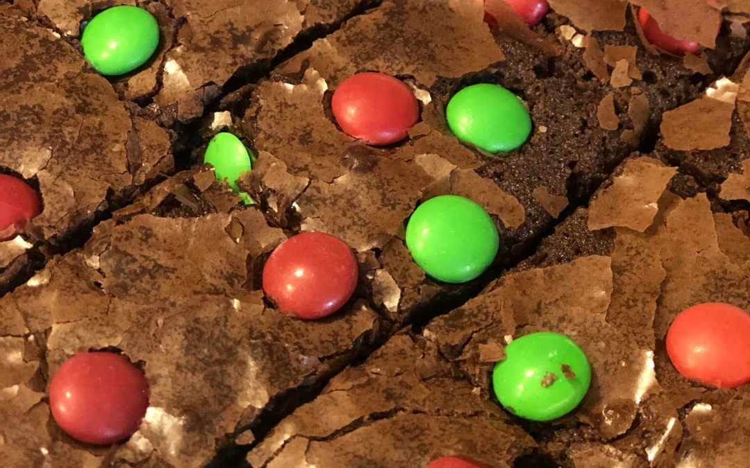 M&M Brownies