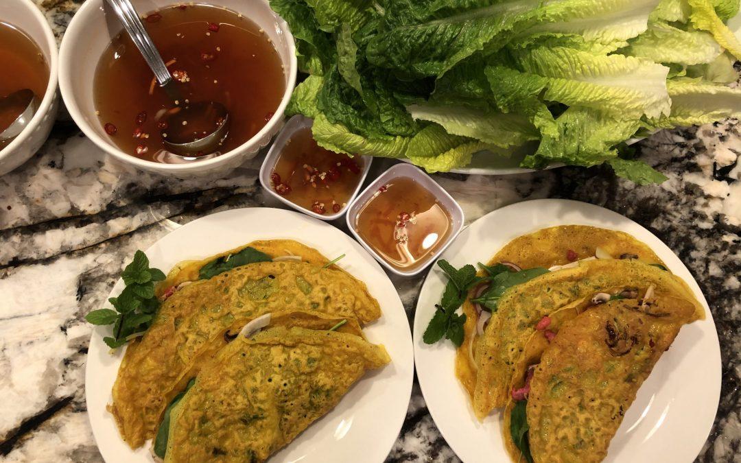Crispy Vietnamese Crepe (Banh Xeo)